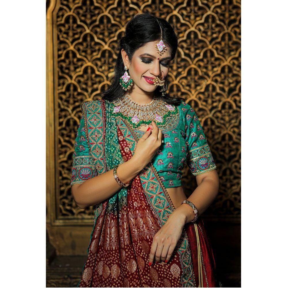 Maharani bridal lehenga